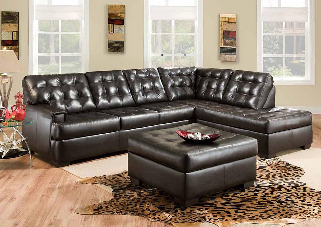 Overstock Furniture Langley Park Catonsville Alexandria Lanham Soho Espresso Sectional